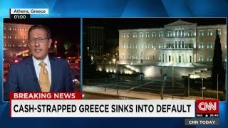 Greece defaults on $1.7 billion payment
