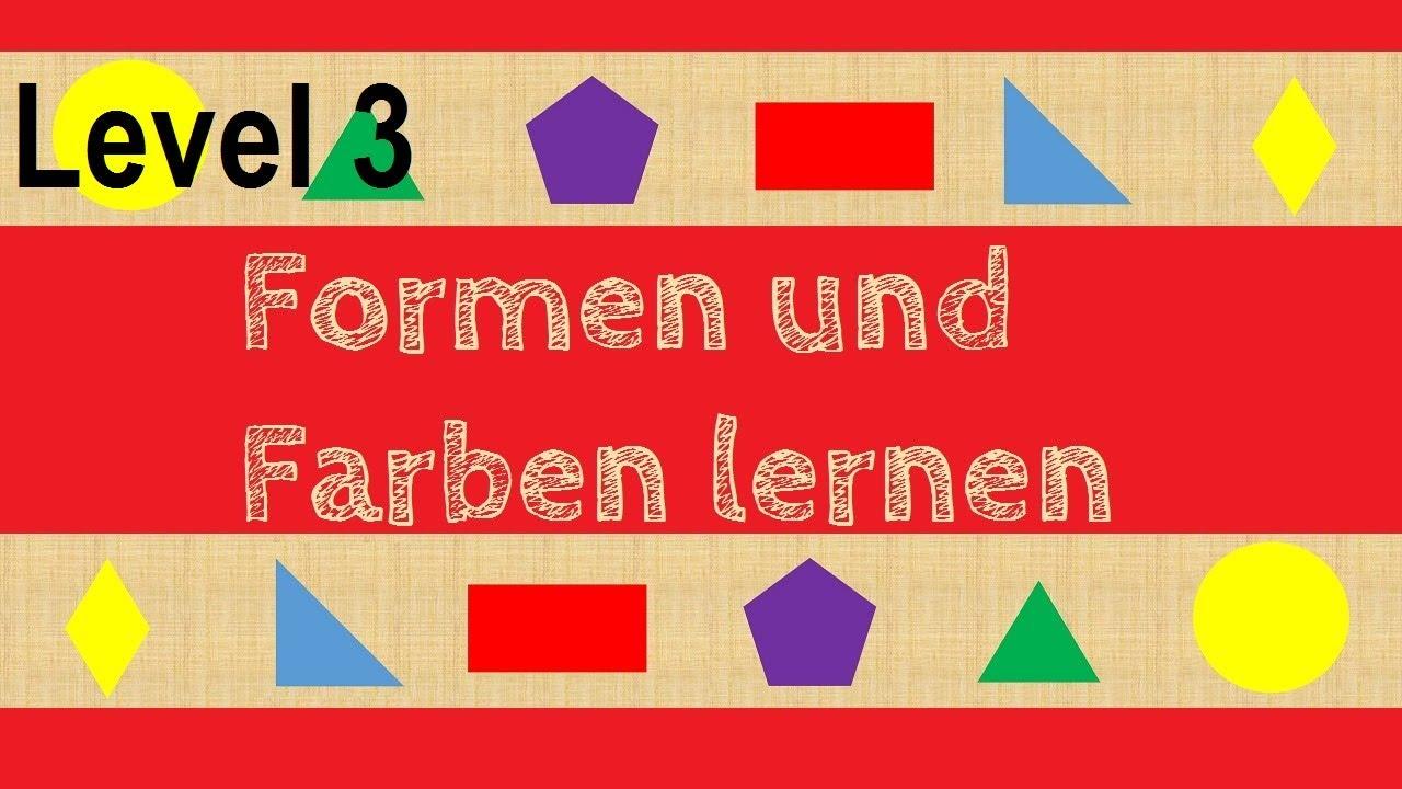 Wo ist das Dreieck? (Level3) Geometrische Formen und Farben erkennen ...