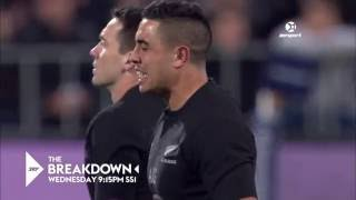 RAW EMOTION: Anton Lienert-Brown's All Blacks Debut Post-Haka Reaction | SKY TV