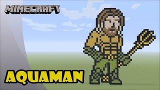 Minecraft: Pixel Art Tutorial: Aquaman (Aquaman Movie)