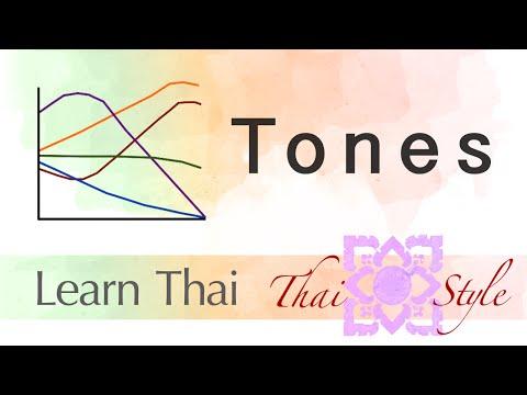 Thai Pronunciation : The Five Tones (Episode 19)