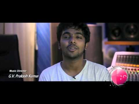 Raja Rani - Making of Hey Baby | Arya, Atlee, G V Prakash and M Sherif