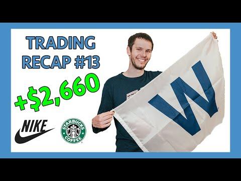 Trading Recap #13 +$2,663 (NKE, SBUX, SPY)