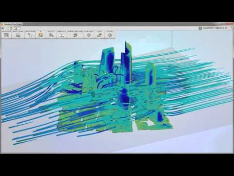 Flow Design Architectural Wind Studies  YouTube