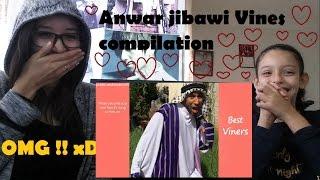 Anwar jibawi - Vines compilation _ REACTION