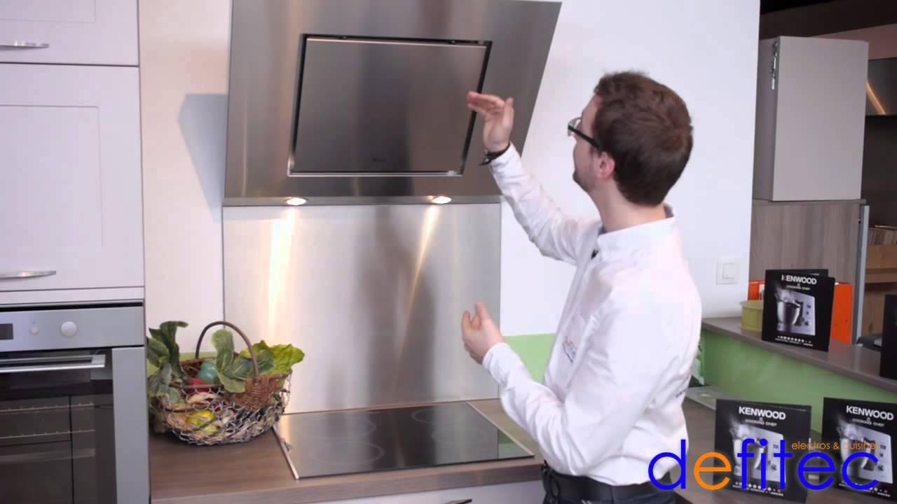 electros et cuisines defitec thomas vous presente les hottes aspirantes