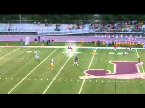 Taylor Dean #9 Jordan High School Football 2011