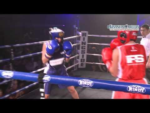 Masood vs Wilkinson - Bout 3, iFS White Collar Boxing HK - 8th Sept 2012