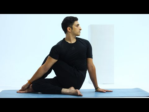 5 Minutes Pilates workout with Master Ajay