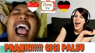 Ngerjain Orang Indonesia Pake Gigi Palsu
