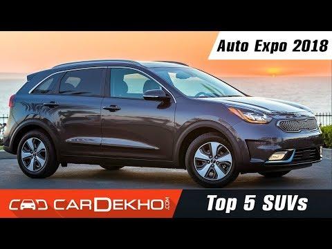Top 5 SUVs @ Auto Expo 2018 | CarDekho.com
