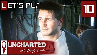 Uncharted 4 - Part 10 - The Getaway - Let's Play - Gameplay Walkthrough