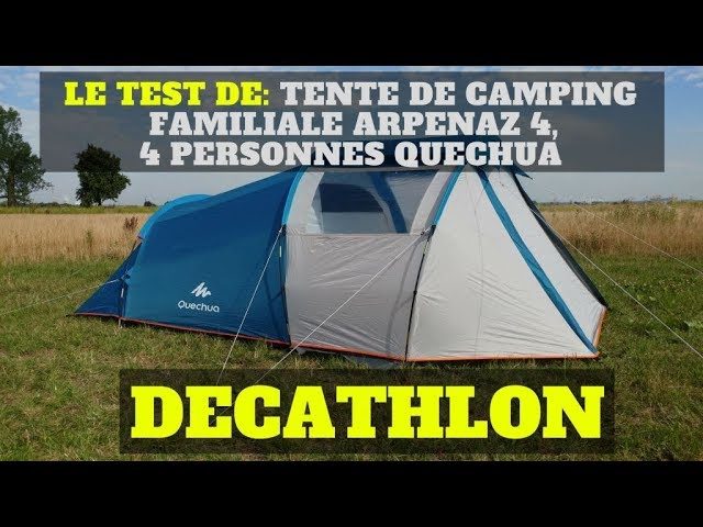 b7a81aa90 Tente de camping Quechua Air Seconds Family 6.3XL Decathlon ...