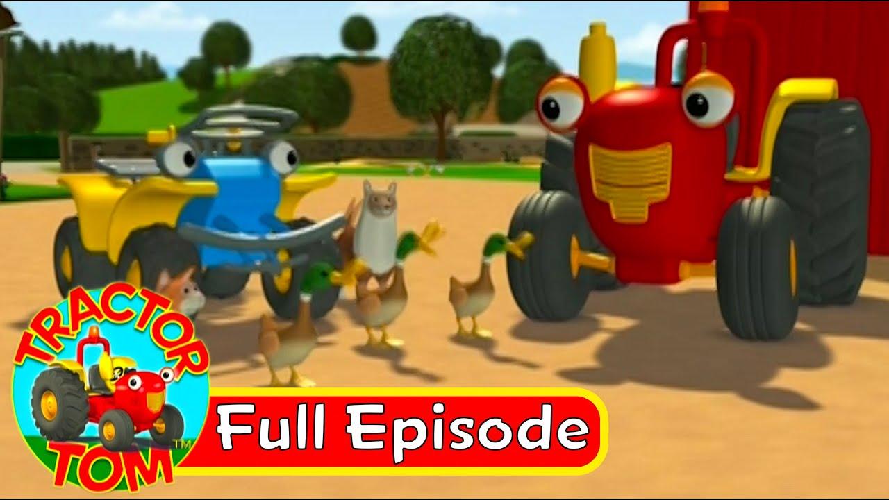 Tractor tom 52 wild ducks full episode english youtube - You tube tracteur tom ...