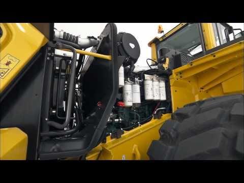 Volvo Wheel Loader GSeries L150G, L180G, L220G  walkaround