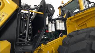 Volvo Wheel Loader G-Series L150G, L180G, L220G video walk-around