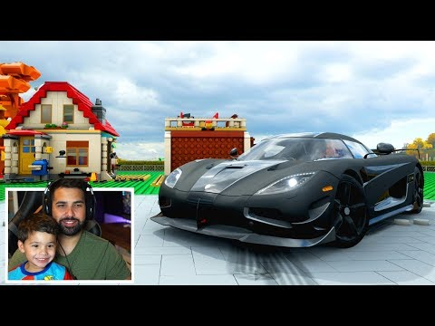 Forza Horizon 4 LEGO DLC - GOT OUR LEGO GARAGE!