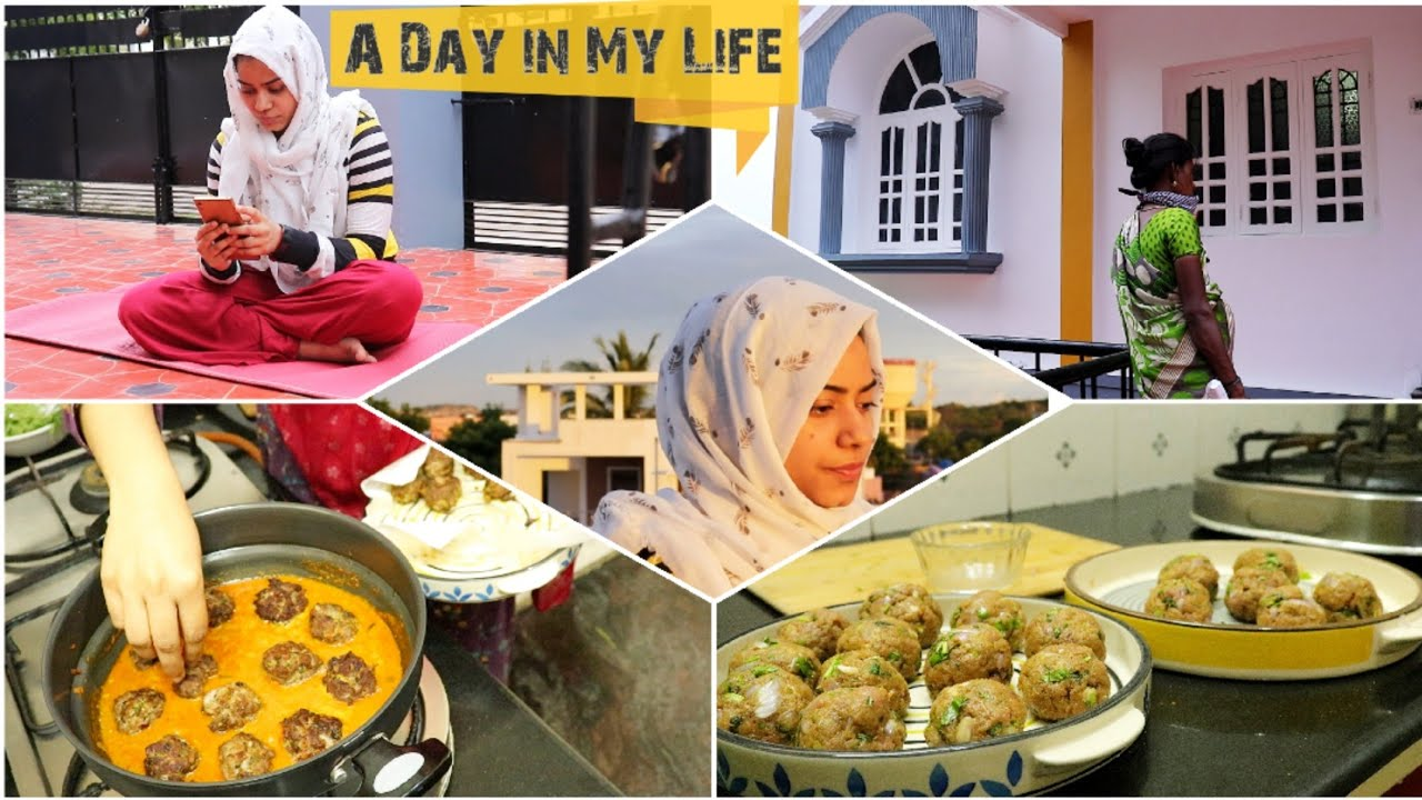 A Day in My Life Tamil / Morning Routine / Beef Kofta Curry / Tamil Vlog / Diml