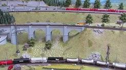 """Bahnbetrieb im """"Dreiländereck"""" in Spur N ( 1zu 160)"""