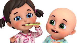 Baby's First Teeth Song | Brush | cartoon for kids | Jugnu kids Nursery Rhymes & Kids Songs