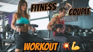 FITNESS COUPLE WORKOUT