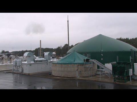 Первая биогазовая установка