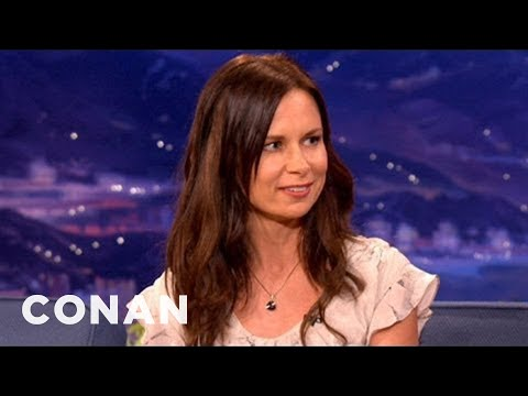 Mary Lynn Rajskub's Son Has Her Back  CONAN on TBS