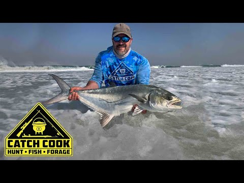 Leerfish (Garrick) Fishing at Van Stadens, South Africa | CATCH COOK