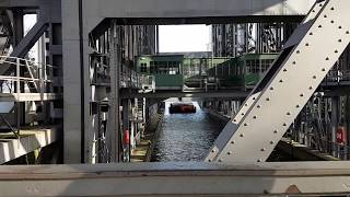 Schiffshebewerk in Niederfinow Hebewerk Brandenburg Insel Usedom