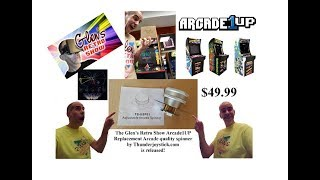 The GRS Arcade1UP replacement spinner and how to install.