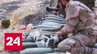 Бои в Пальмире: правительственные войска обратили боевиков в бегство