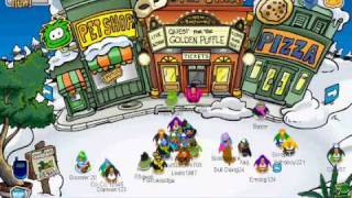 Club Penguin Earth Day Party - Scavenger Hunt Guide