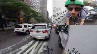 NYC biker Death Wish crash GoPro New York City