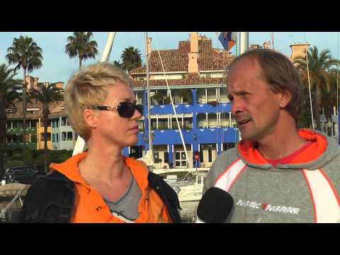 Enrique and Hugo Claassen sail into Sotogrande to highlight problems of dyslexic children in Holland