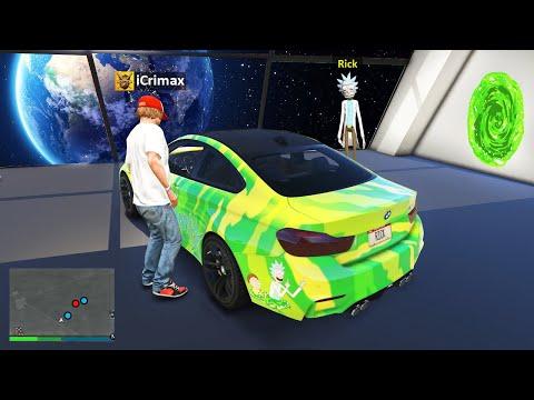 Ich KLAUE das RICK & MORTY AUTO in GTA 5 RP!