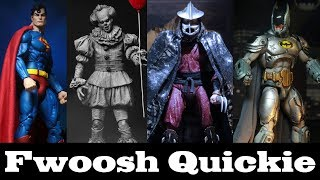 Quickie! NECA San Diego Comic Con Exclusives and the Infinite Sadness