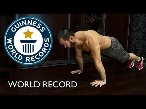 Мировой рекорд по отжиманиям за 30 секунд/MOST PUSH UPS FOR 30 second