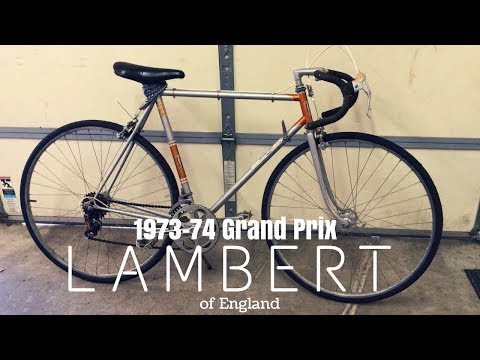 1973-74 Lambert / Viscount Grand Prix Road Bicycle - Vintage Bicycle