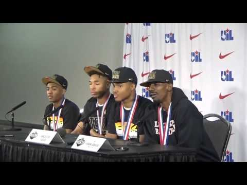 Lancaster Tigers UIL State Campionship Post Game Press Conference 3 12 2016