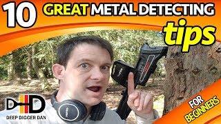10 Great Metal Detecting Tips For Beginners