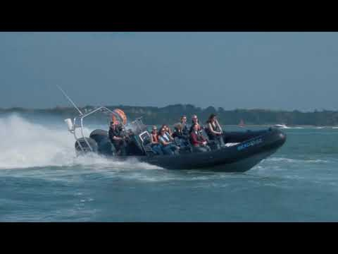 Video of Extreme Solent 60 minute RIB Taster for Two