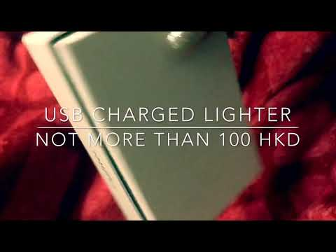 USB Charged lighter from Hong Kong, iPhone design