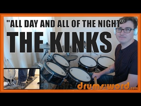 ★ All Day And All Of The Night (The Kinks) ★ Drum Lesson PREVIEW | How To Play Song (Mick Avory)