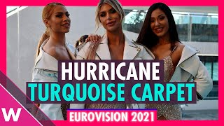 Hurricane (Serbia) @ Eurovision 2021 Turquoise Carpet Opening Ceremony | Interview