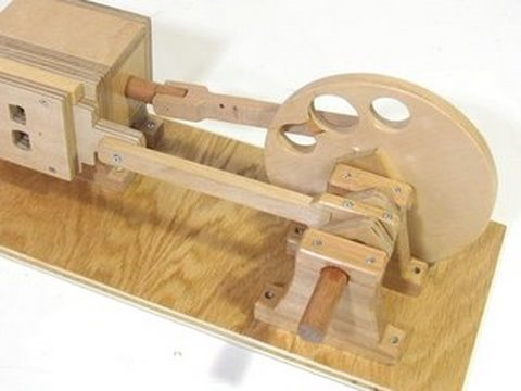 Wooden air engine