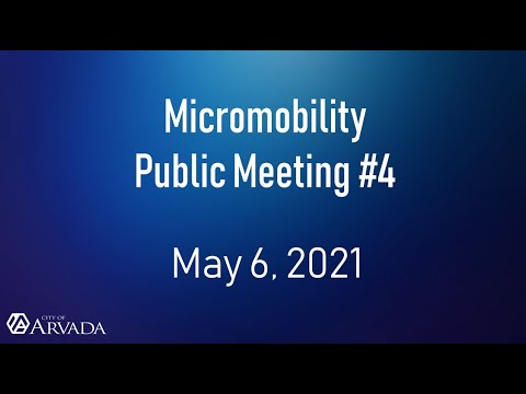 Recording of Public Meeting #4