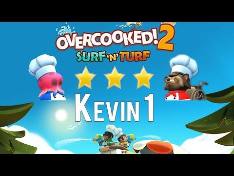 Overcooked! 2   Surf 'n' Turf 3 Stars ★   Kevin 1  
