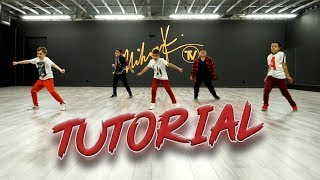 Mustard, Migos - Pure Water (Dance Tutorial) Beginner Choreography | MihranTV