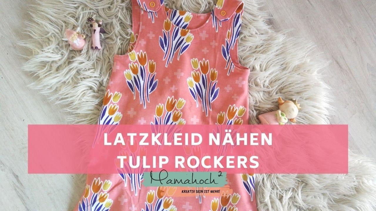Latzkleid nähen - Nähanleitung für ein Kleid (Kinder) für Anfänger