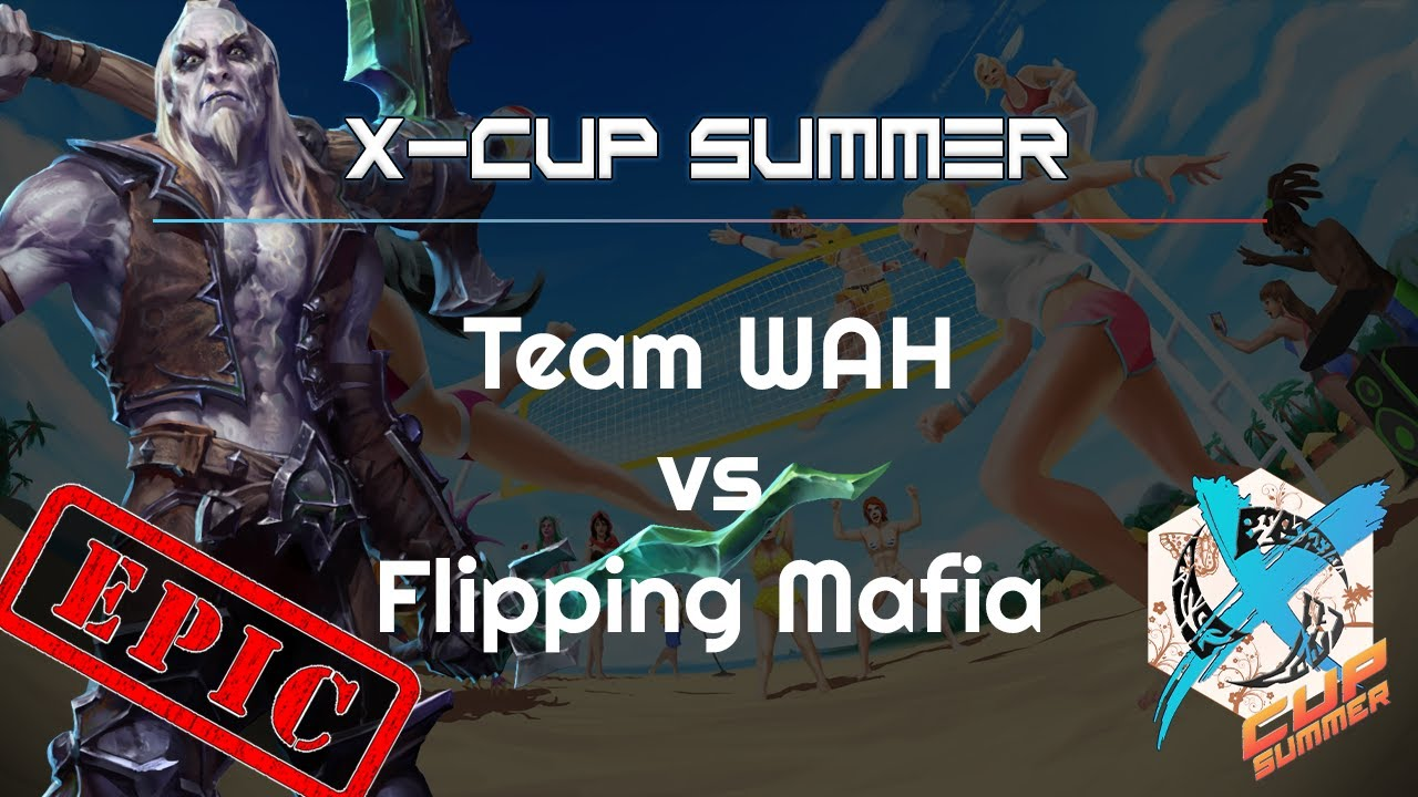 Mafia vs. WAH - X-Cup Summer - Heroes of the Storm 2021